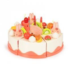 Tort do krojenia zestaw urodzinowy przyjęcie 82 el