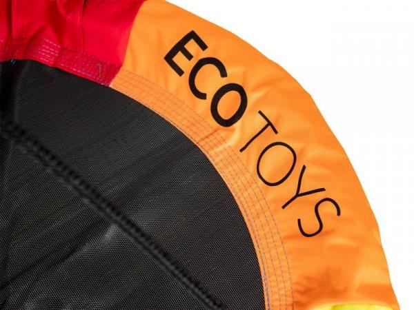 Huśtawka ogrodowa bocianie gniazdo 110cm Multicolor Ecotoys