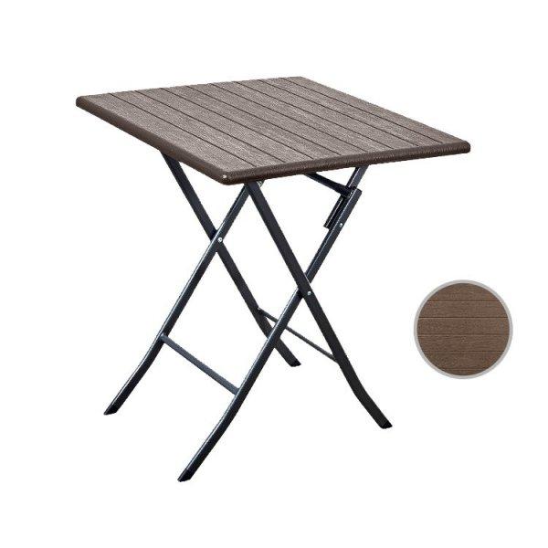 Stolik kawowy składany stół ogrodowy taras 62cm
