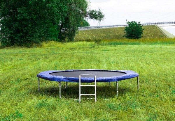 Trampolina ogrodowa 305cm/10ft z drabinką