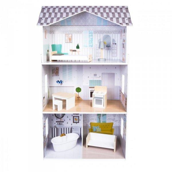 Domek dla lalek z meblami Rezydencja Grace Ecotoys