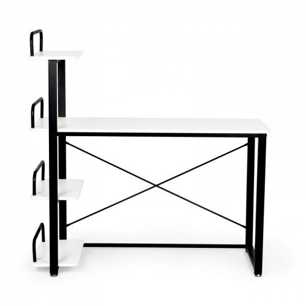 Biurko komputerowe biurowe stół + regał półki ModernHome