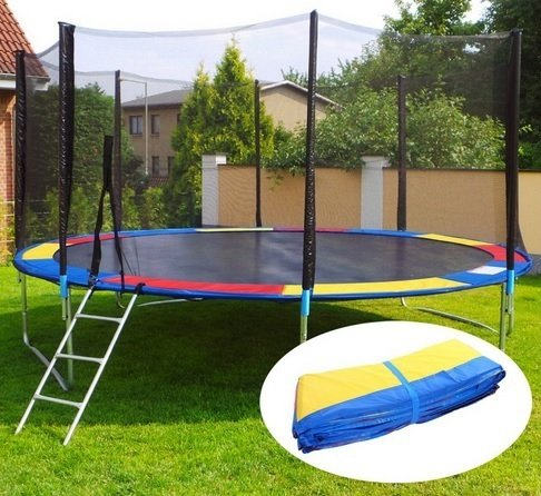 Kolorowa osłona sprężyn do trampoliny 244 250 cm 8ft
