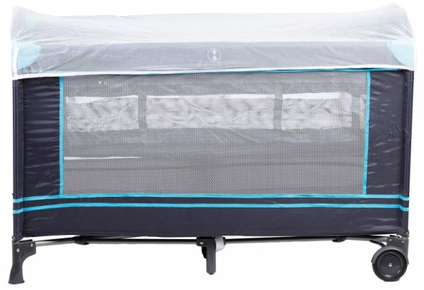 Łóżko turystyczne kojec z moskitierą Ecotoys