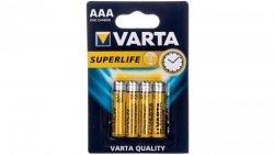 Bateria cynkowo-węglowa R03P / AAA SUPERLIFE /4 szt./