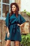 Sukienka motyl Sofia - Zieleń Butelkowa - numoco 287-2
