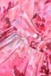 Szyfonowa sukienka Liv - Różówa