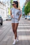 Komplet dresowy Comfort - Szary - StreetStyle