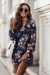 Sukienka Malvina - kwiatowy print-1