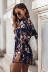 Sukienka Malvina - kwiatowy print-2