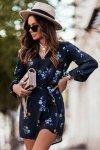 Sukienka w kwiaty CARLA - 4