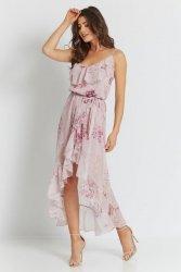 Sukienka Luna - Różowa - Streetstyle 730