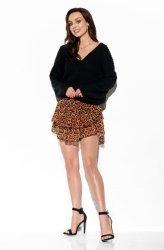 Zwiewna spódniczka z jedwabiem LG545 M druk 21
