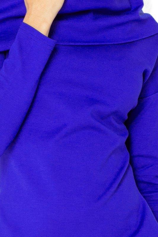 131-2 Sukienka z GOLFEM - grube punto - CHABER