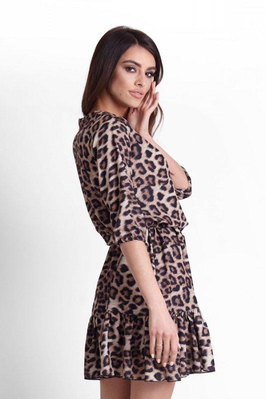 Sukienka Ramira w panterkę - Ivon