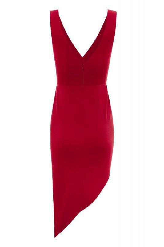 Sukienka Gaja - Czerwona - StreetStyle 741