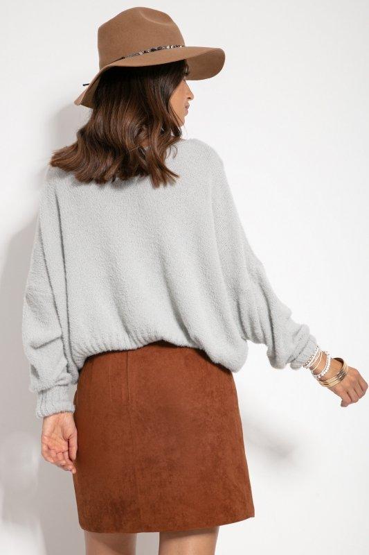 Sweter F1070- Szary -3