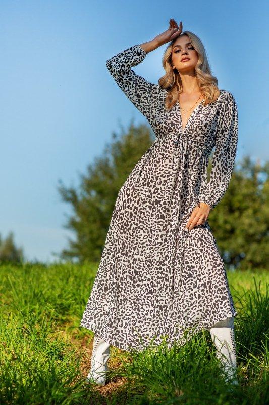Sukienka maxi F1097 -6