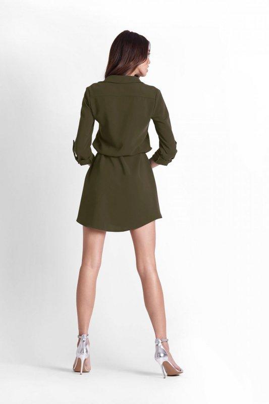 Sukienka Octavia - Khaki - Ivon