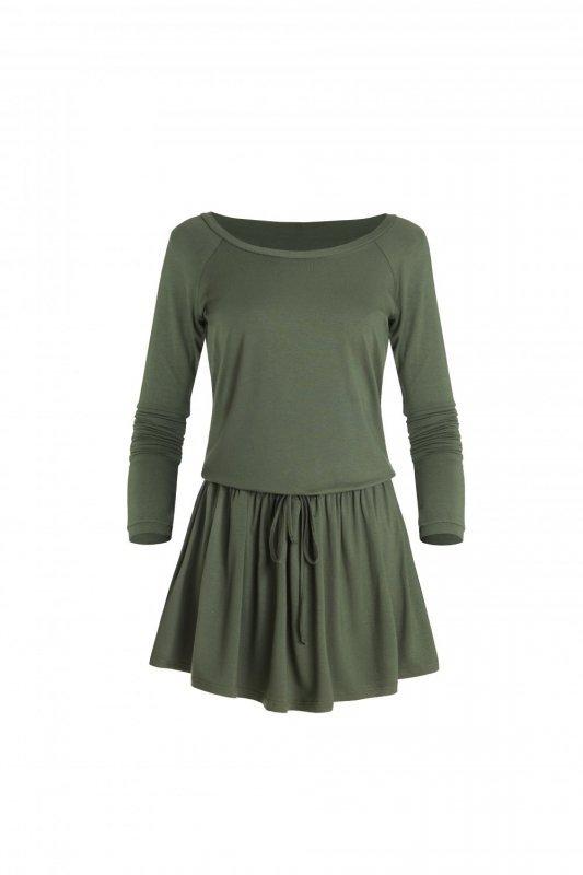 Sportowa sukienka Blanka - Khaki - Ivon