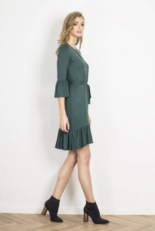 Sukienka o luźnym kroju Shira -Zielona - Ivon