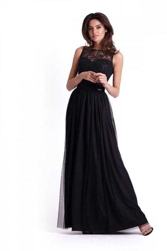 Długa elegancka sukienka Sisi - Ivon