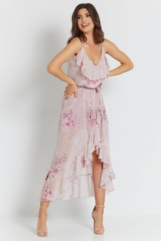 Sukienka Luna - Różowa