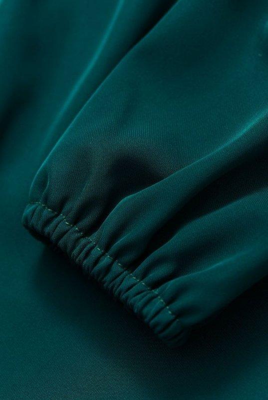 Sukienka Malvina - Butelkowa Zieleń