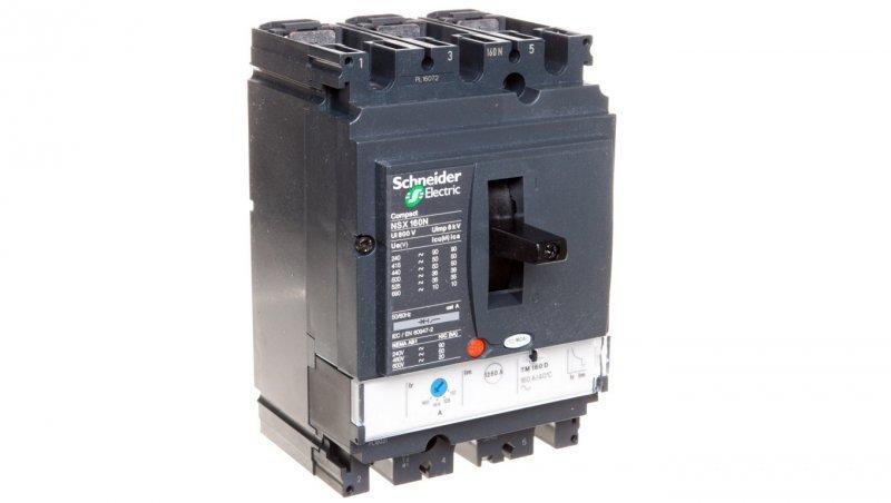 SCHNEIDER Wyłącznik mocy 160A 3P 50kA NSX160N LV430840