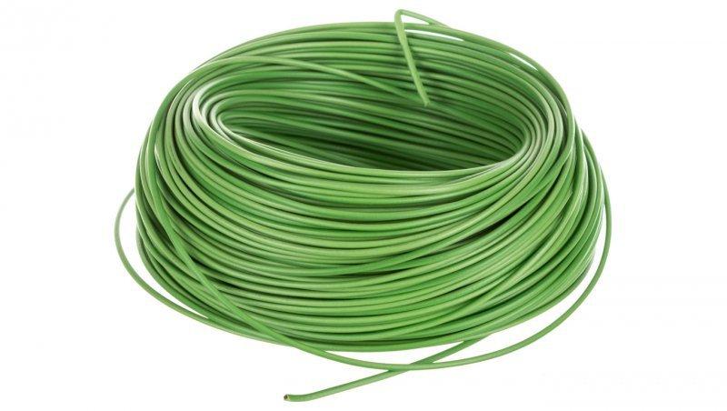 Przewód instalacyjny H05V-K 0,5 zielony 29091 /100m/