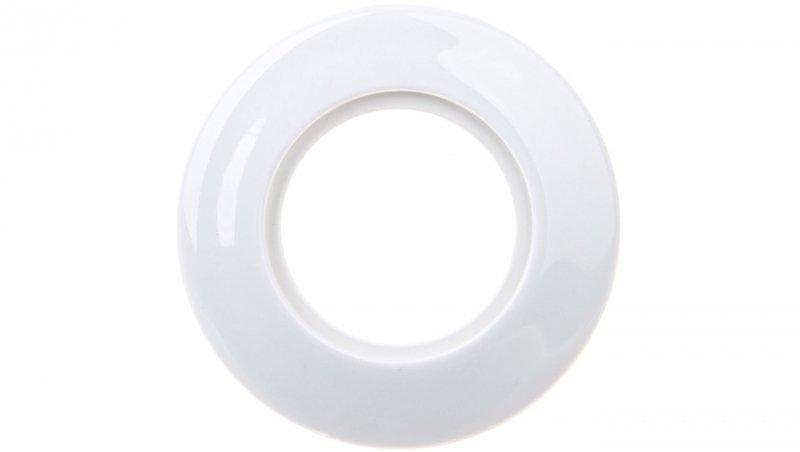 1930 Ramka pojedyncza porcelanowa biała 138169