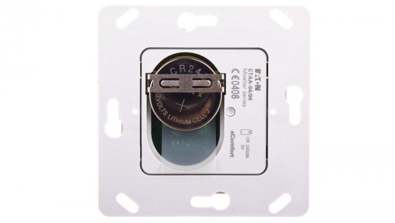 EATON xComfort Bezprzewodowy nadajnik do klawisza poczwórnego (podtynkowy) CTAA-04/04 126031