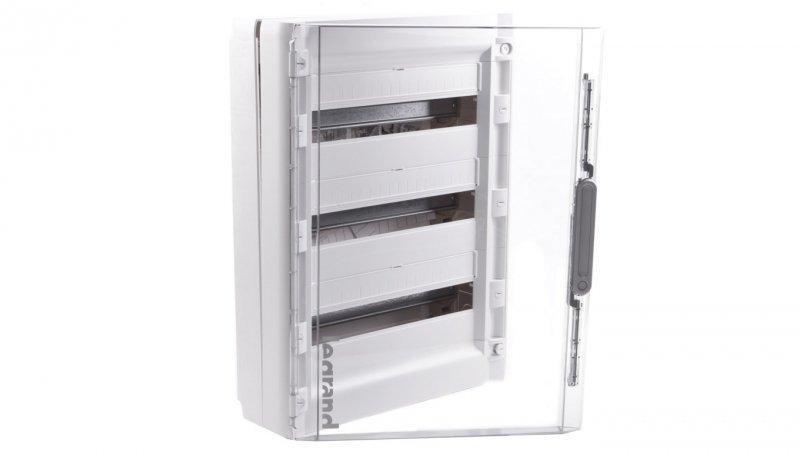 Legrand Rozdzielnica modułowa XL3 125 3x18 natynkowa IP40 /drzwi transparentne/ 401658