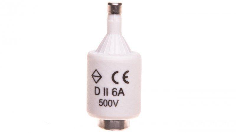 HAGER Wkładka bezpiecznikowa BiWts 6A DII gF 500V LE27F06