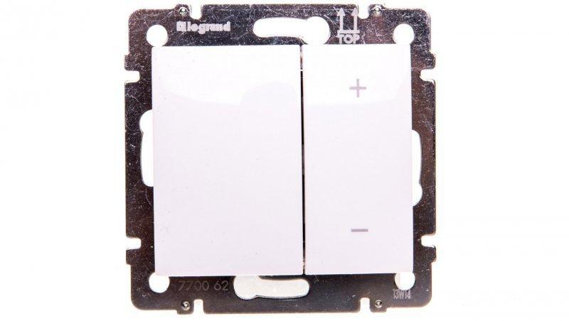 Legrand VALENA Ściemniacz przyciskowy 40-400VA 250V biały 770062