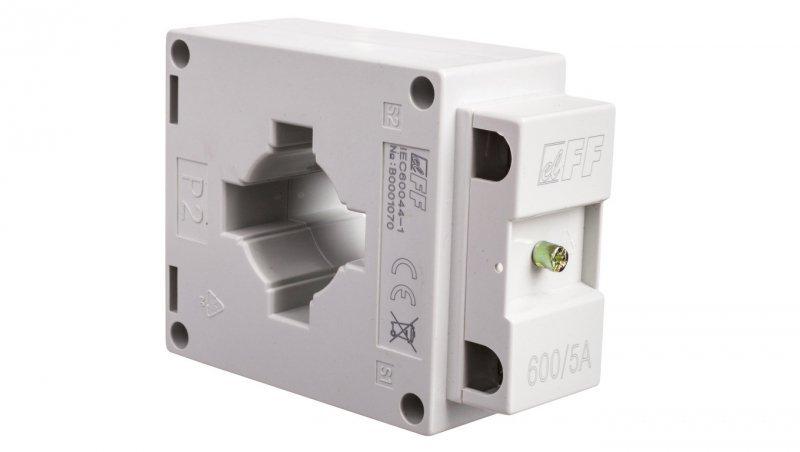 Przekładnik prądowy na kabel i szynę fi30+40/30x10mm TI-600-5