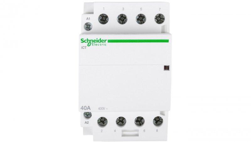 Stycznik modułowy 40A 4Z 0R 230V AC iCT A9C20844