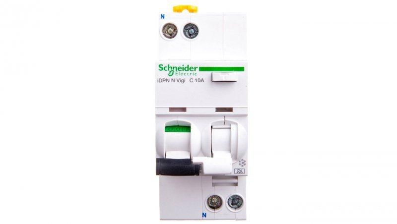 Wyłącznik różnicowo-nadprądowy 2P 10A C 0,03A typ A iDPN N VIGI A9D32610