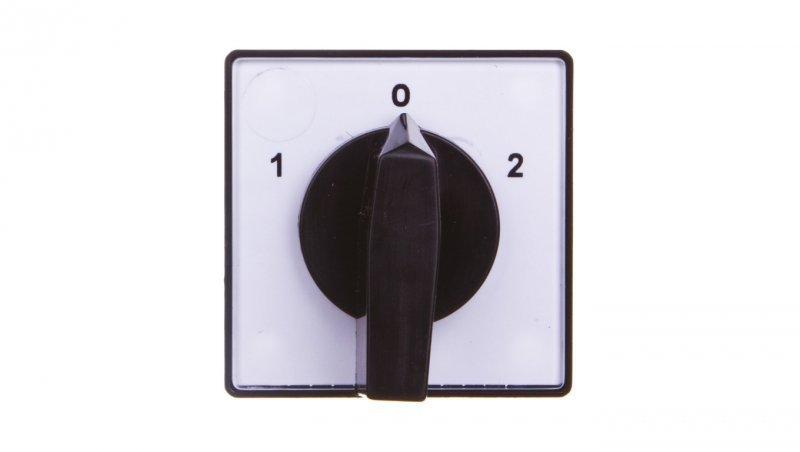 Łącznik krzywkowy 1-0-2 5P 10A do wbudowania 4G10-76-U