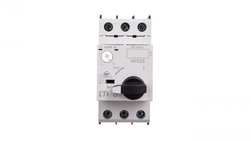 Wyłącznik silnikowy 3P 9kW 10-16A MPE25-16 004648011