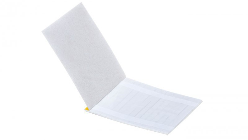 Oznacznik do opisywania ręcznego TS 22 biały E04ZP-02010101000 /280szt./