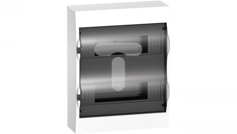 Rozdzielnica modułowa 2x12 natynkowa IP40 drzwi transparentne Easy9 EZ9E212S2S