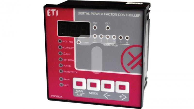 Regulator współczynnika mocy cos(fi) 6 stopniowy CP PFC 6 DA 004656570