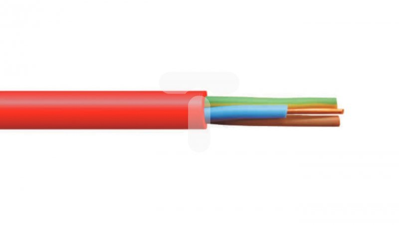 Przewód ognioodporny PH90 HDGS 5x2,5 żo 300/500V /bębnowy/