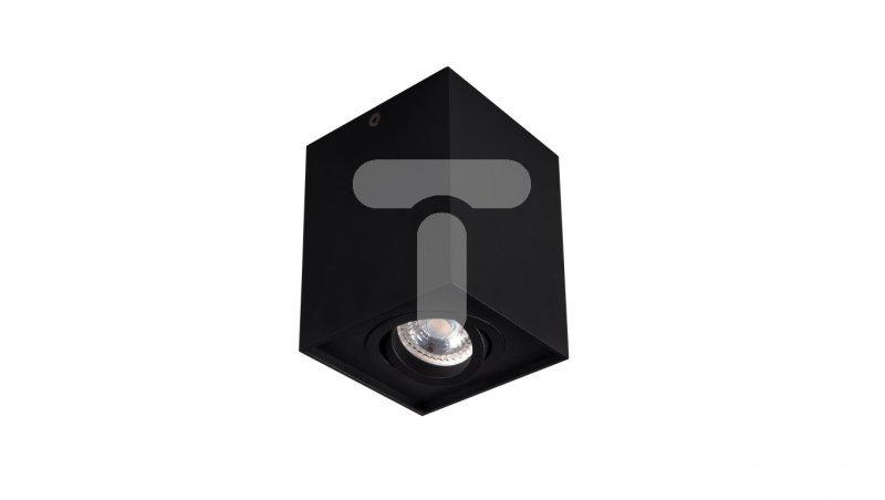 Oprawa nasufitowa punktowa LED 25W GU10 GORD DLP 50-B czarna 25471