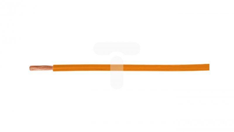 Przewód instalacyjny H07V-K (LgY) 1 pomarańczowy /100m/