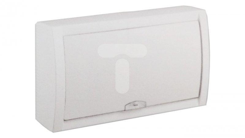 Rozdzielnica modułowa 1x18 natynkowa IP40 /biała/ 90911518