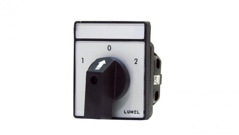Łącznik krzywkowy 1-0-2 2P 16A do wbudowania PKT1 C60L202OFA000