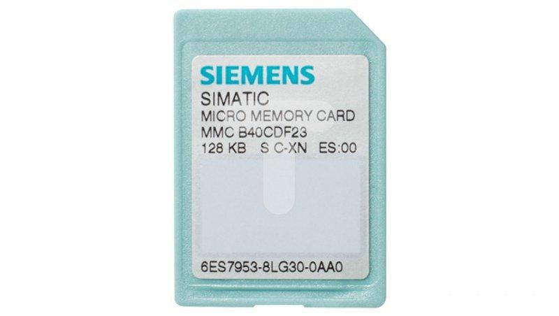 KARTA PAMIĘCI MMC (MICRO MEMORY CARD) DLA STEROWNIKÓW SIMATIC S7-300/C7/ET 200 64KB 6ES7953-8LF31-0AA0