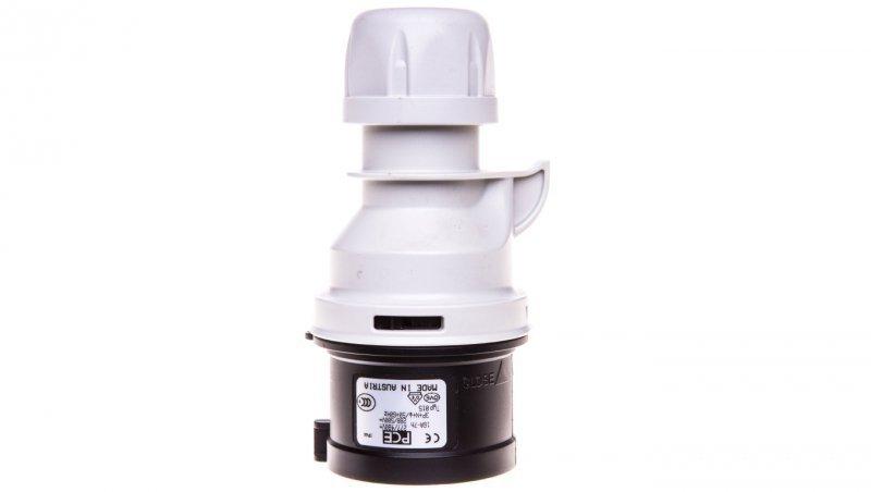 Wtyczka przenośna 16A 5P 500V czarna IP44 SHARK 015-7